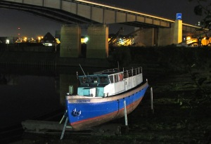 """Cormoran"" - Neue Triton Werft - DU Meiderich / foto: parcelpanic"