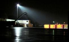 "Containerterminal ""Alter Freihafen"" / foto: parcelpanic"