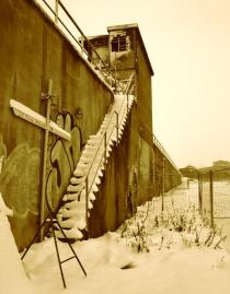 (provisorische) Gedenkstätte Dezember 2010 / foto: parcelpanic