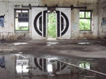 Alter Güterbahnhof - Nebenhalle / foto: parcelpanic (2009)