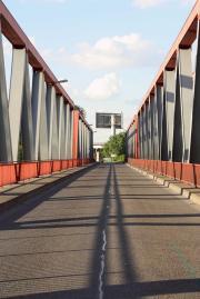 Brücke an der Schleuse Meiderich
